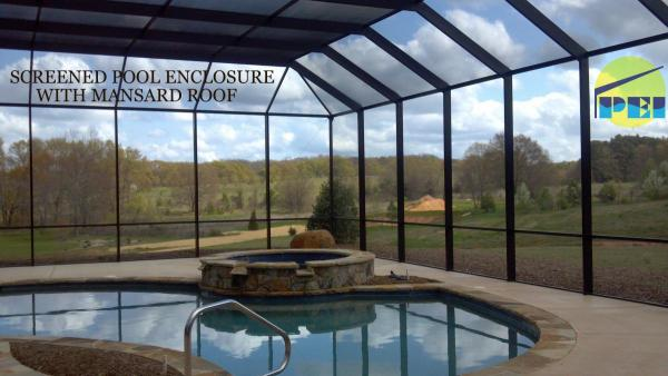 Virginia Screened Pool Enclosures