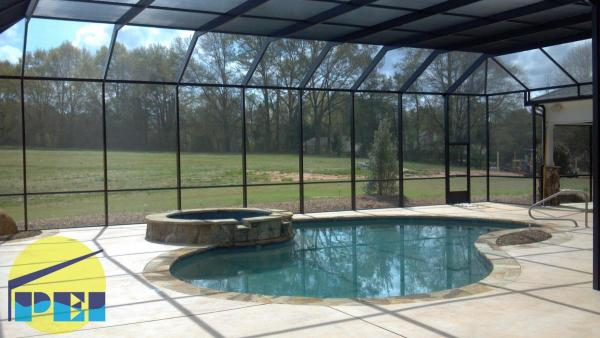 Nc screen pool enclosures manufacturer - Swimming pool screen enclosures cost ...
