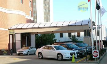 Porte cochere excellent hotel at auburn begins on new for Cheap hotels in la porte tx