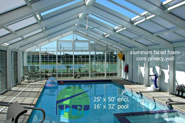 Swimming Pool Enclosure Interiors