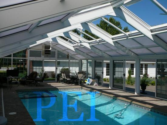 residential pool enclosure interior motorized pool enclosures