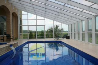 Lean To Swimming Pool Enclosures Sloped Glazing Glass