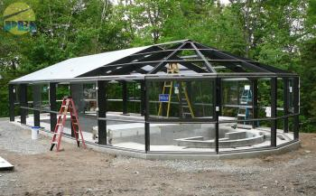 Quebec Canada Swimming Pool Enclosures Conservatories