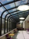 Commercial Curved Eave Sunroom