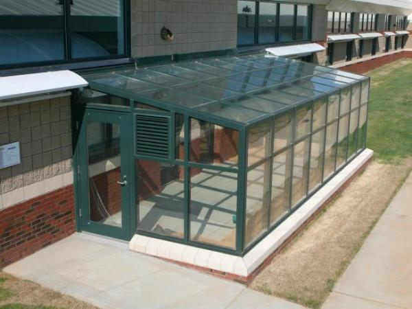 Commercial Lean To Greenhouse Sunrooms Glass Enclosures